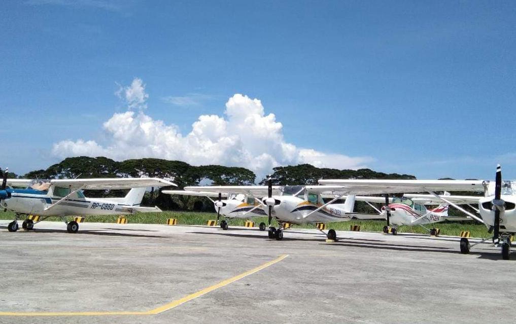 Máy bay phục vụ cho khóa học bay tại Royhle Flight.