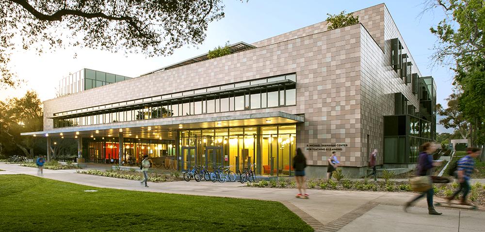 Khuôn viên Đại học Harvey Mudd. Ảnh: Harvey Mudd College.