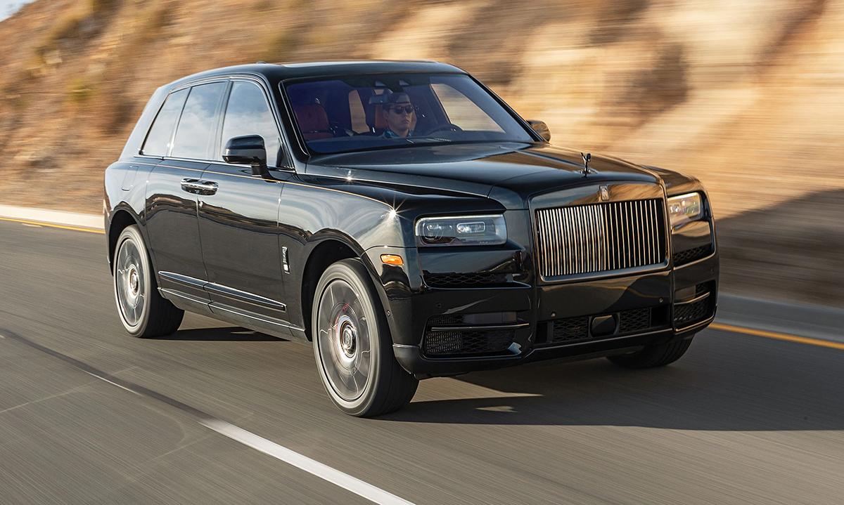 Rolls-Royce Cullinan. Ảnh: Motor1