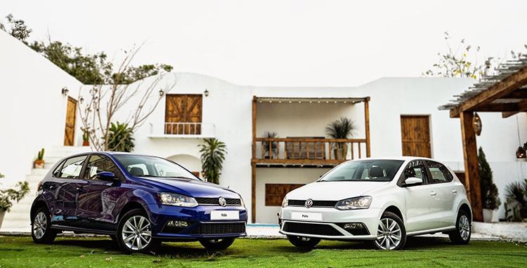 Bộ đôi VW Polo Hatchback..