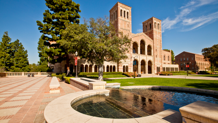 Một góc Đại học California tại Los Angeles. Ảnh: NBC Los Angeles