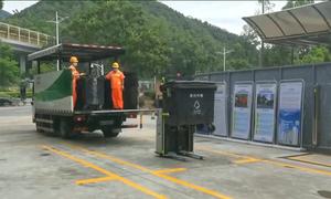 Trung Quốc triển khai robot đổ rác thông minh
