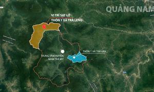 Dồn lực tìm người mất tích trong hai vụ sạt lở ở Quảng Nam