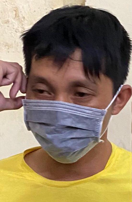 Nghi can Đỗ Xuân Quỳnh lúc bị bắt. Ảnh: Công an cung cấp.