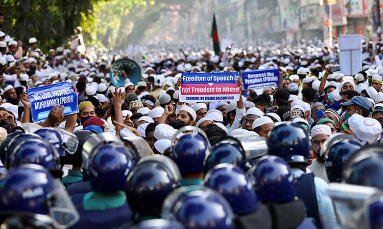 Người biểu tình tại