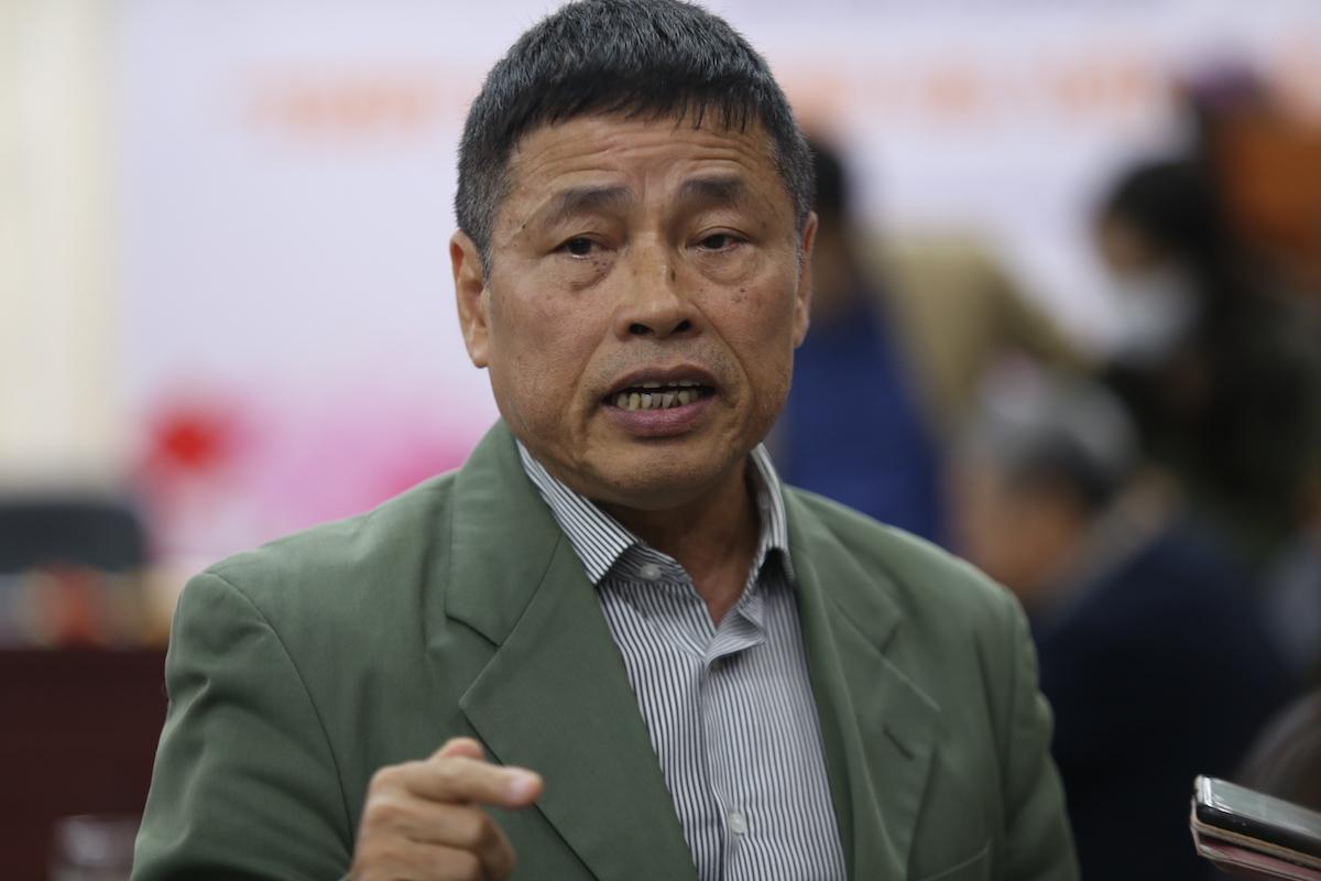 TS Nguyễn Ngọc Chu cho rằng thuỷ điện làm tăng ảnh hưởng của lũ. Ảnh: Gia Chính