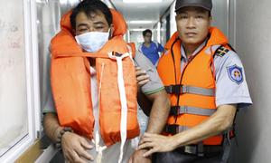 3 ngư dân mất tích trên biển được cứu
