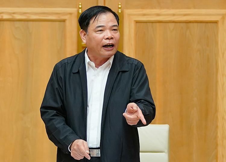 Bộ trưởng Nông nghiệp và Phát triển Nông thôn Nguyễn Xuân Cường. Ảnh: Quang Hiếu/VGP