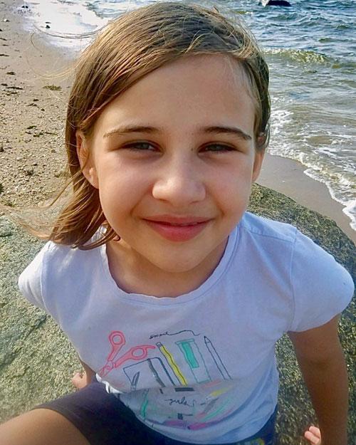 Lucy Navalany, học sinh lớp 4 trường tiểu học John Philip Sousa, Ảnh: Scholastic.