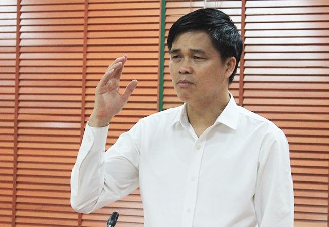 Ông Ngọ Duy Hiểu, Phó chủ tịch Tổng Liên đoàn lao động Việt Nam. Ảnh: PV.