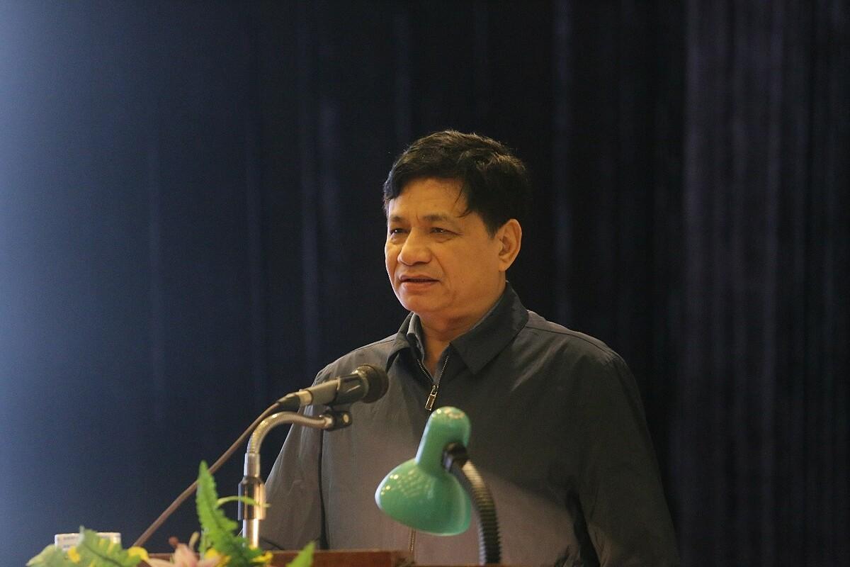 Ông Lê Danh Tuyên, Viện trưởng Viện Dinh dưỡng Quốc gia đánh giá cao những lợi ích mà Dự án mang lại. Ảnh: