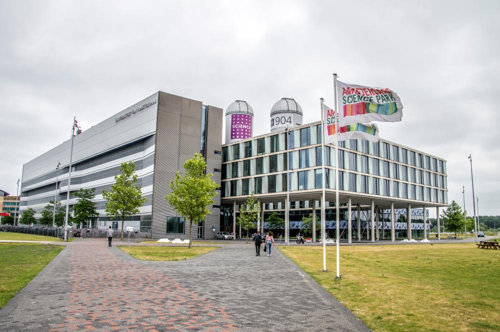 Một tòa nhà của Đại học Amsterdam tại Công viên Khoa học Amsterdam, Hà Lan. Ảnh: Shutterstock