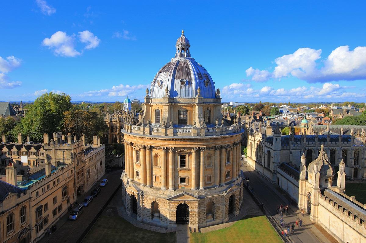 Khuôn viên Đại học Oxford (Vương quốc Anh). Ảnh: Shutterstock.