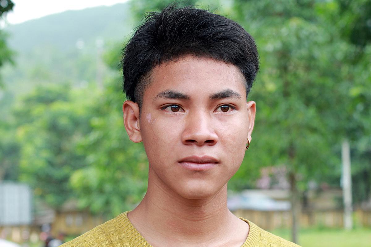 Em Hồ Văn Sút. (Phan Dương)
