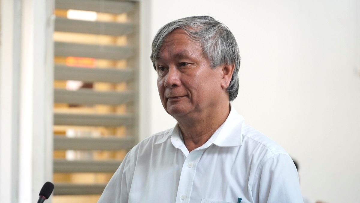 Cựu Giám đốc Sở Y tế bị tuyên phạt 3 năm tù. Ảnh: Hoàng Nam