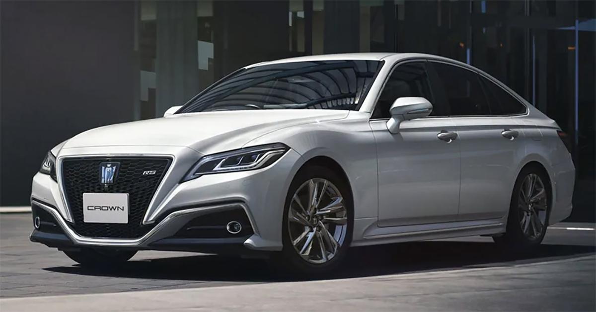 Crown phiên bản 2021 ra mắt thị trường Nhật Bản. Ảnh: Toyota