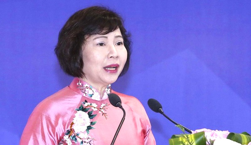 Bà Hồ Thị Kim Thoa. Ảnh: TTXVN