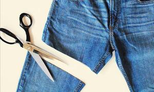 5 cách tái chế quần jean cũ