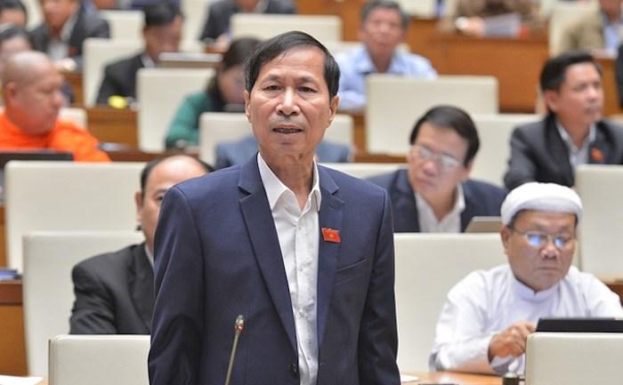 Đại biểu Bùi Văn Phương. Ảnh: Trung tâm báo chí Quốc hội