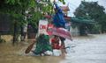 72 giờ lũ lụt và hành trình vượt rốn ngập Quảng Bình