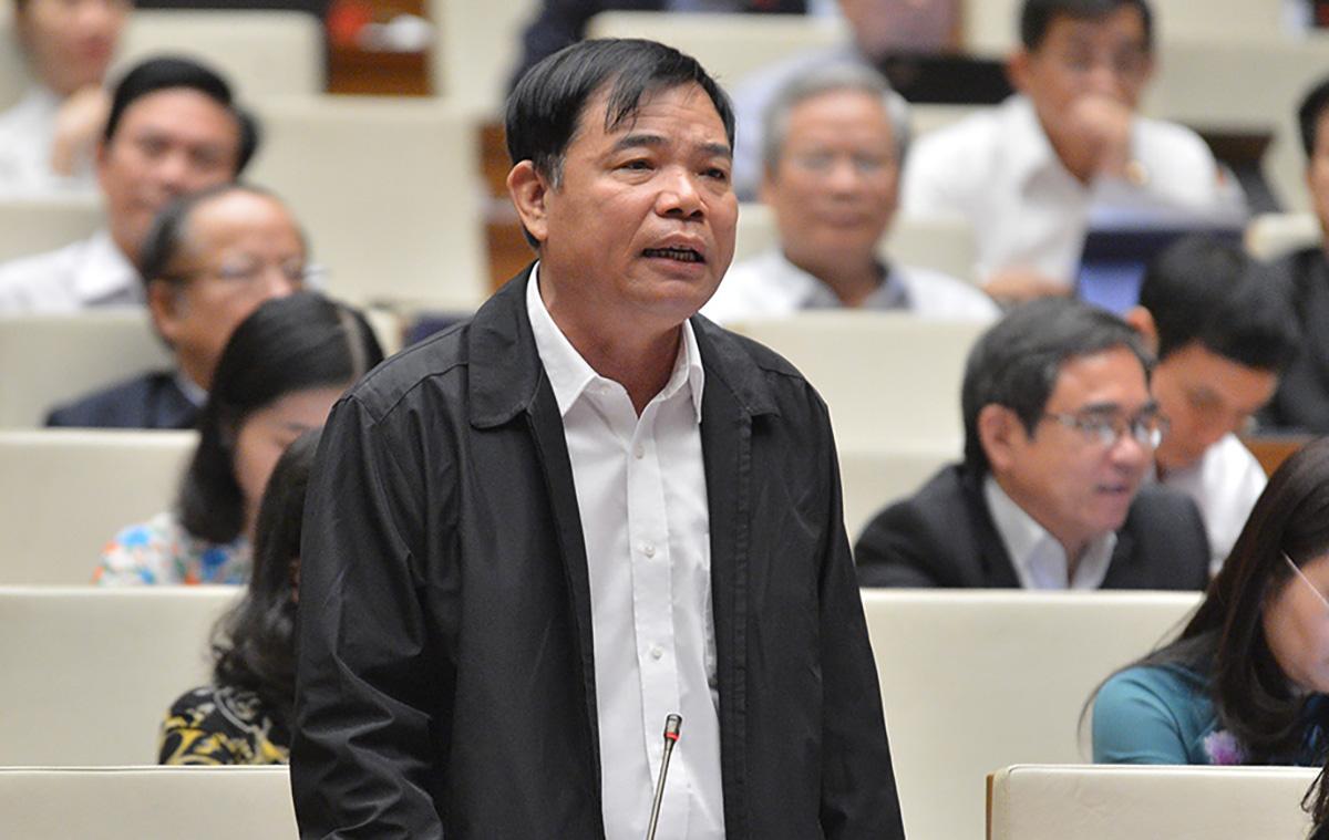 Bộ trưởng Nông nghiệp và Phát triển nông thôn Nguyễn Xuân Cường. Ảnh: Trung tâm báo chí Quốc hội