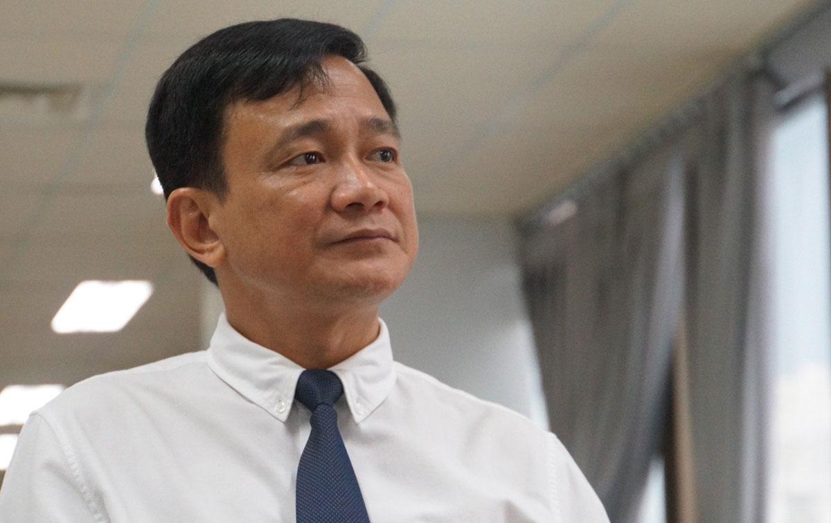 Ông Lê Vinh Danh, nguyên Hiệu trưởng trường Đại học Tôn Đức Thắng. Ảnh: Mạnh Tùng.