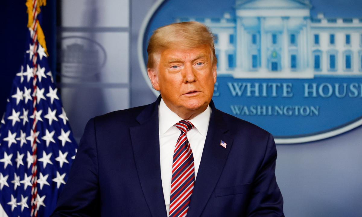 Trump phát biểu tại Nhà Trắng tối 5/11. Ảnh: Reuters.