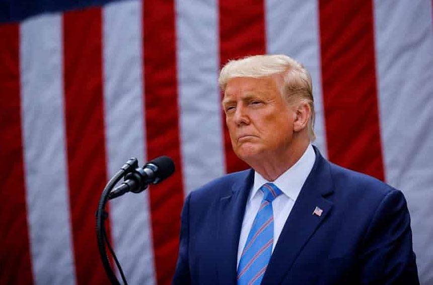 Tổng thống Trump tại Nhà Trắng hồi tháng 9. Ảnh: Reuters.