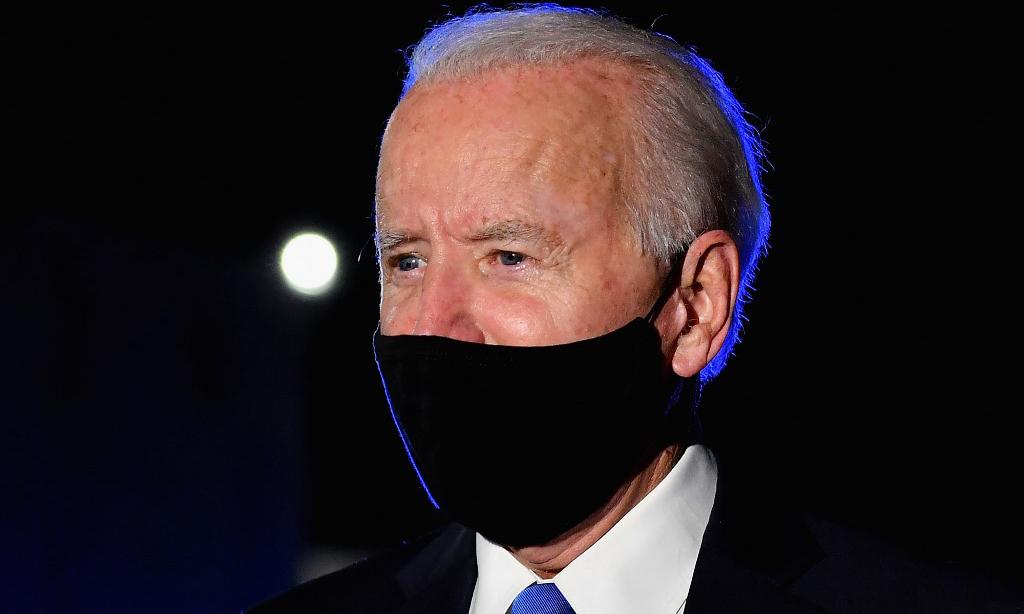 Tổng thống đắc cử Mỹ Joe Biden tại thành phố Nashville, bang Tennessee, hôm 22/10. Ảnh: AFP.