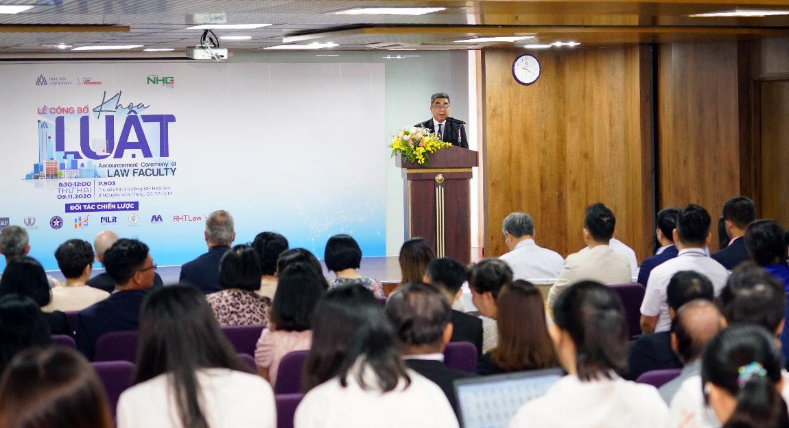 Phó giáo sư, tiến sĩ Nguyễn Ngọc Điện, Hiệu trưởng Đại học Hoa Sen