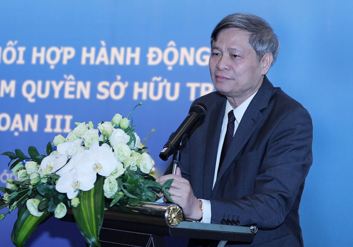 Thứ trưởng Phạm Công Tạc phát biểu tại phiên họp lần thứ Nhất của Ban Thường trực. Ảnh: TTTT.