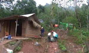 Di dân vùng núi phòng tránh sạt lở