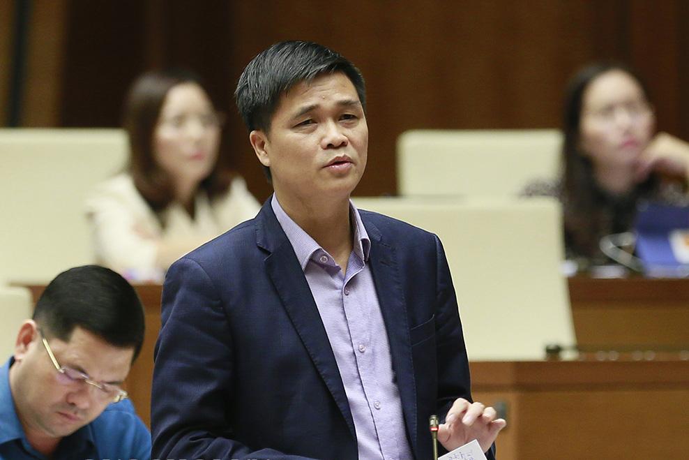 Ông Ngọ Duy Hiểu, Phó chủ tịch Tổng liên đoàn Lao động Việt Nam. Ảnh: Trung tâm báo chí Quốc hội
