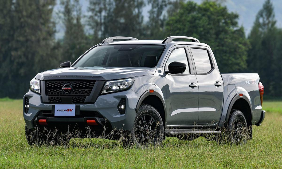 Nissan Navara 2021 phiên bản Pro 4X 4WD 7AT giá 37.700 USD. Ảnh: Motortriva