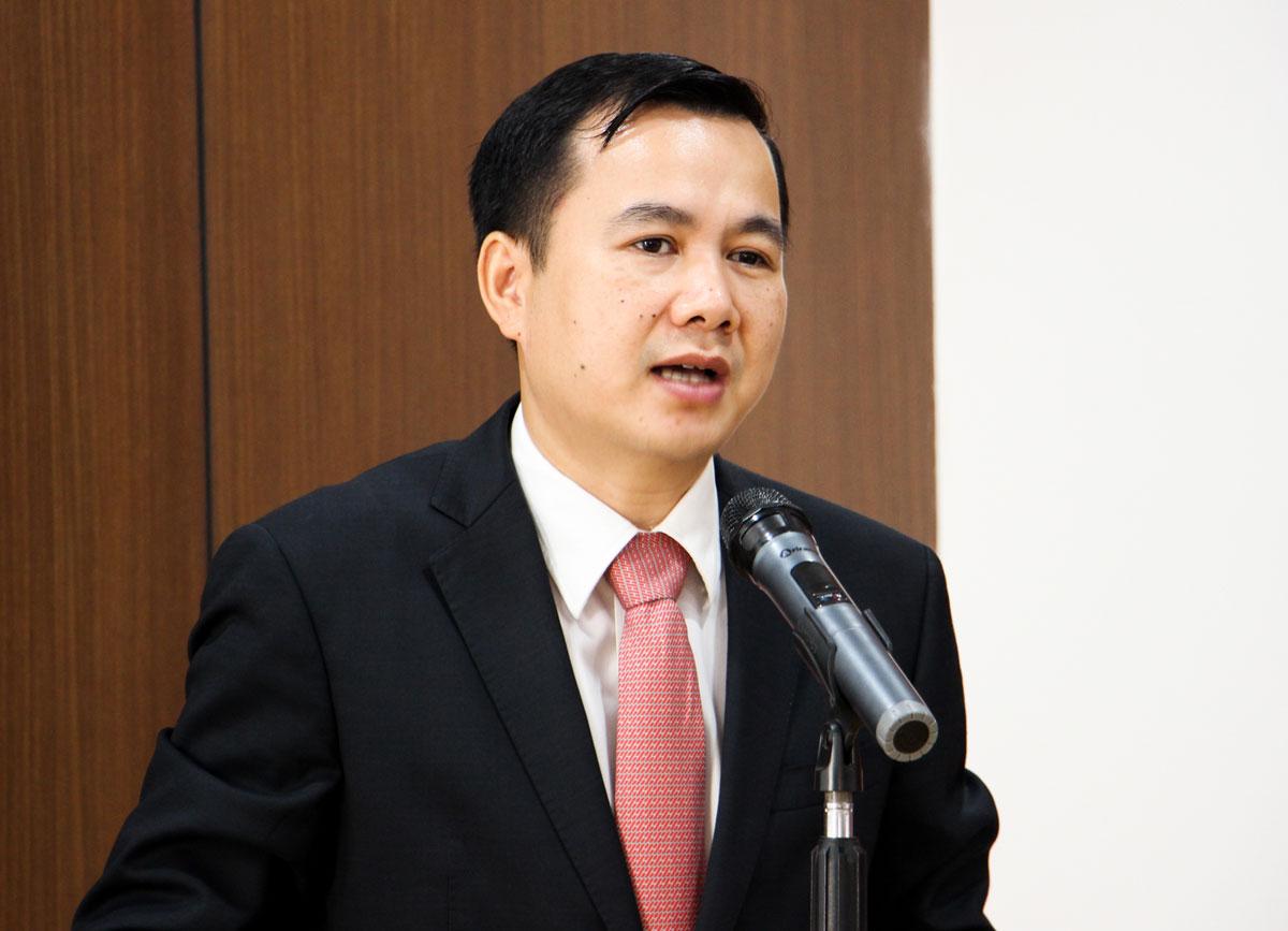 Thứ trưởng Bùi Thế Duy phát biểu tại lễ ký hợp tác.
