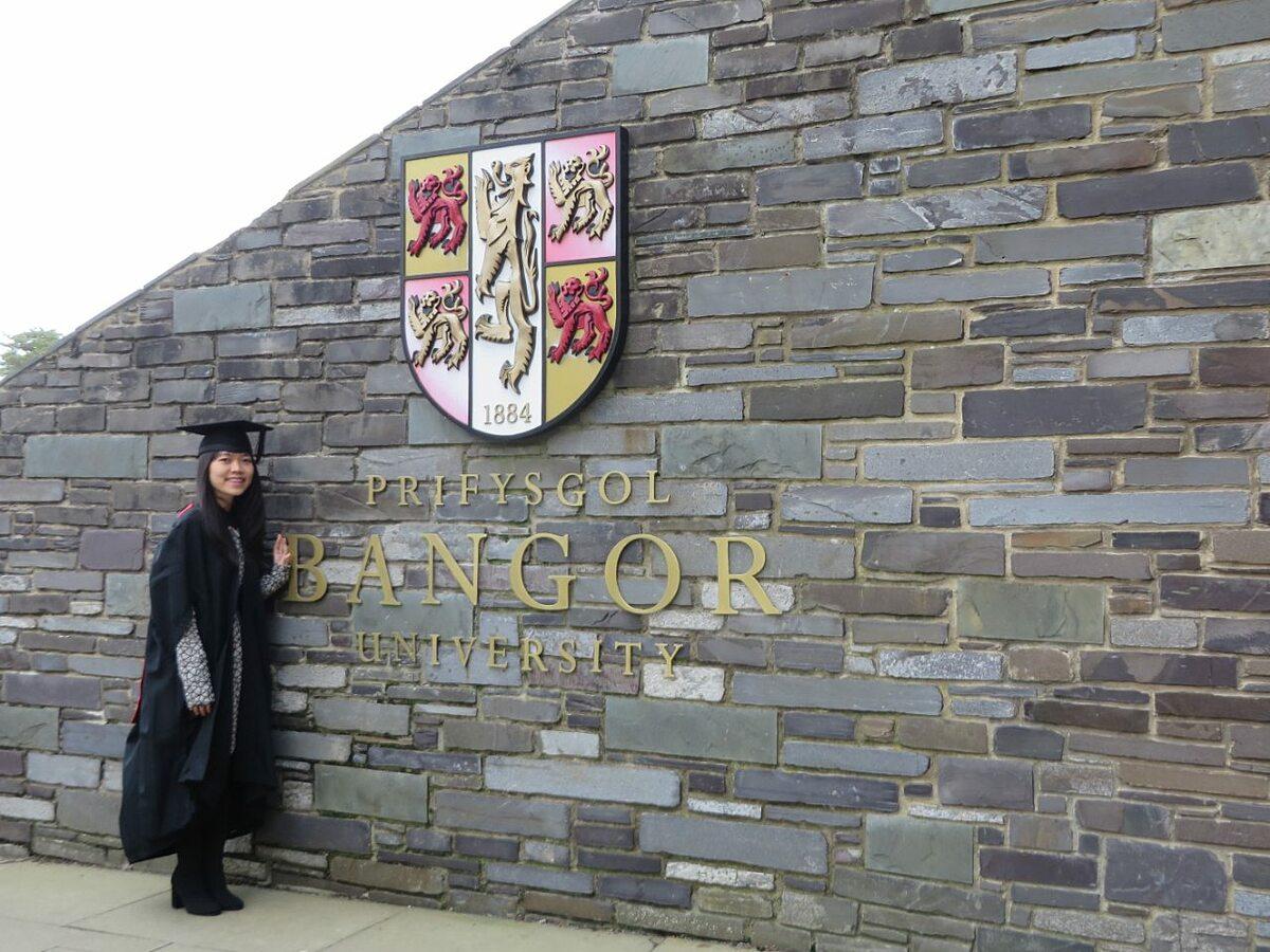 Đại học Bangor là một trong những trường đại học lâu đời và uy tín tại Anh. Ảnh: Bảo Châu.