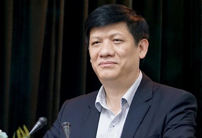 Quyền Bộ trưởng Y tế Nguyễn Thanh Long. Ảnh: Hoàng Thùy