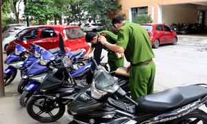 Hai thanh niên trộm hàng chục xe máy bị bắt