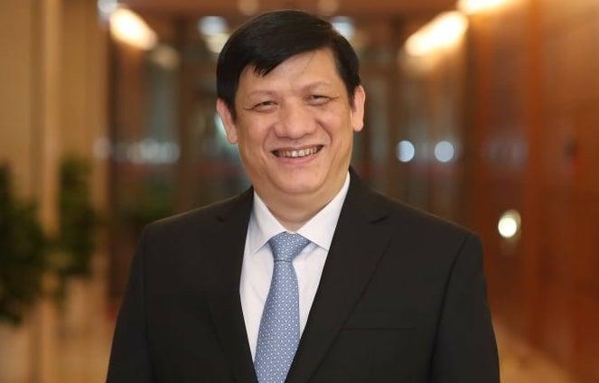 Bộ trưởng Y tế Nguyễn Thanh Long. Ảnh: Hoàng Phong