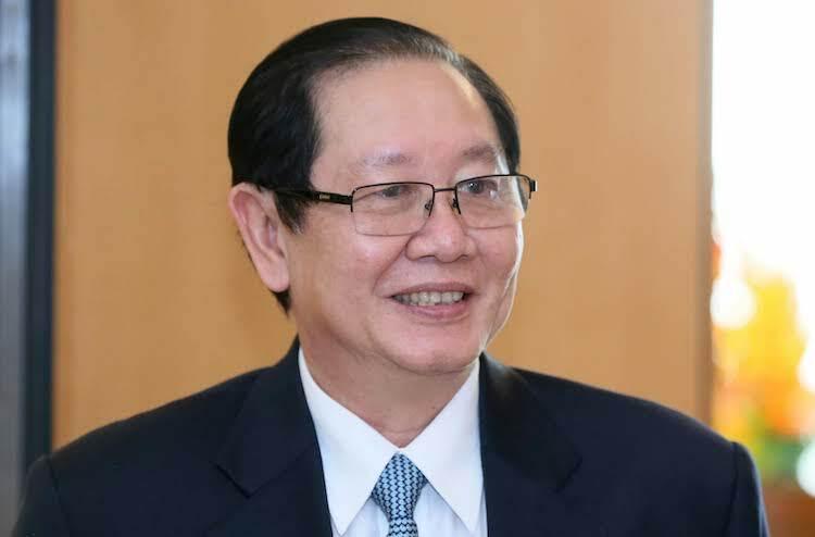 Bộ trưởng Nội vụ Lê Vĩnh Tân. Ảnh: Hoàng Phong