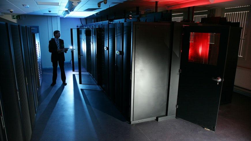 Siêu máy tính ARCCA phục vụ cho công tác nghiên cứus của Đại học Cardiff. Ảnh: Hội đồng Anh