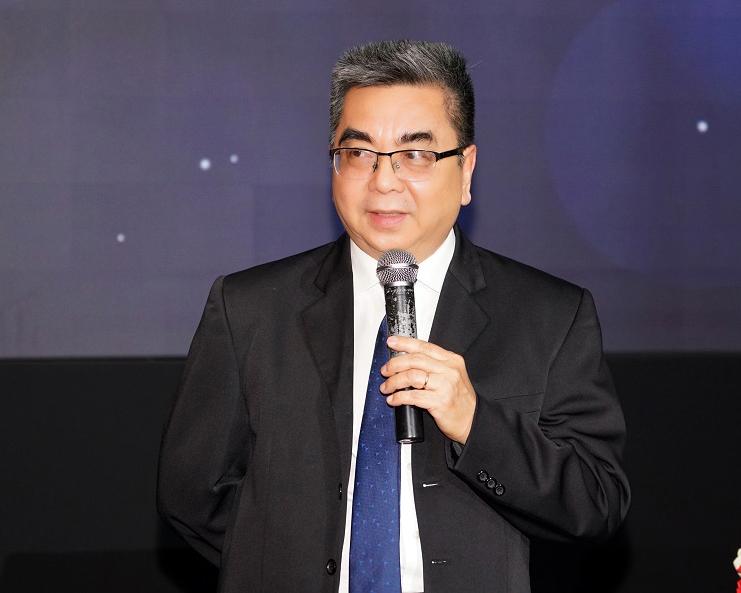 Phó giáo sư, tiến sĩ Nguyễn Ngọc Điện, Hiệu trưởng Đại học Hoa Sen chia sẻ về sự hợp tác, phát triển của hai đơn vị.