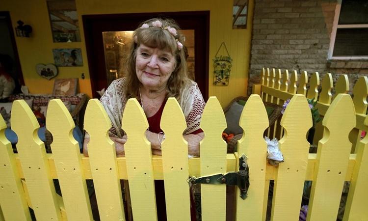 Joan Martin tại nhà riêng ở Picayune, Mississippi. Ảnh: AP.