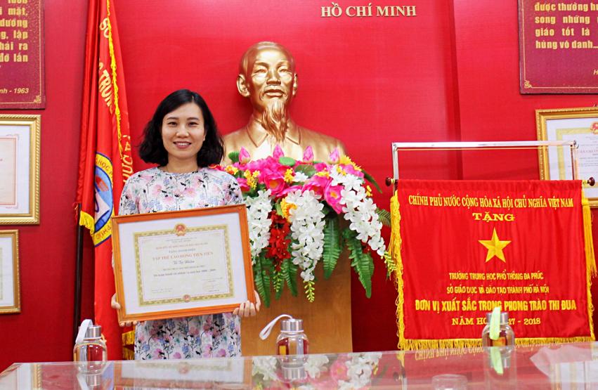 Cô Dương Thu Nguyệt. Ảnh: Nhân vật cung cấp