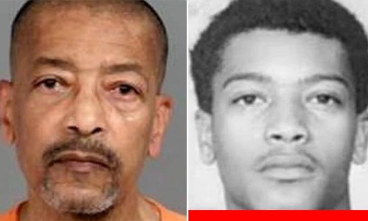 Leonard Moses hiện tại (bên trái) và năm 1968. Ảnh: FBI.