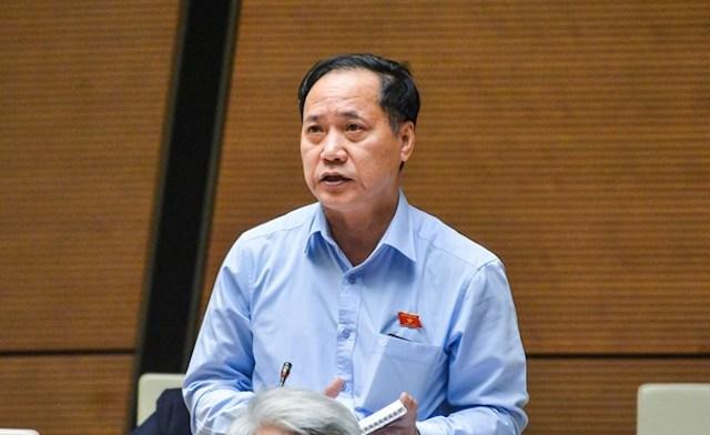 Đại biểu Nguyễn Mai Bộ. Ảnh: Trung tâm báo chí Quốc hội