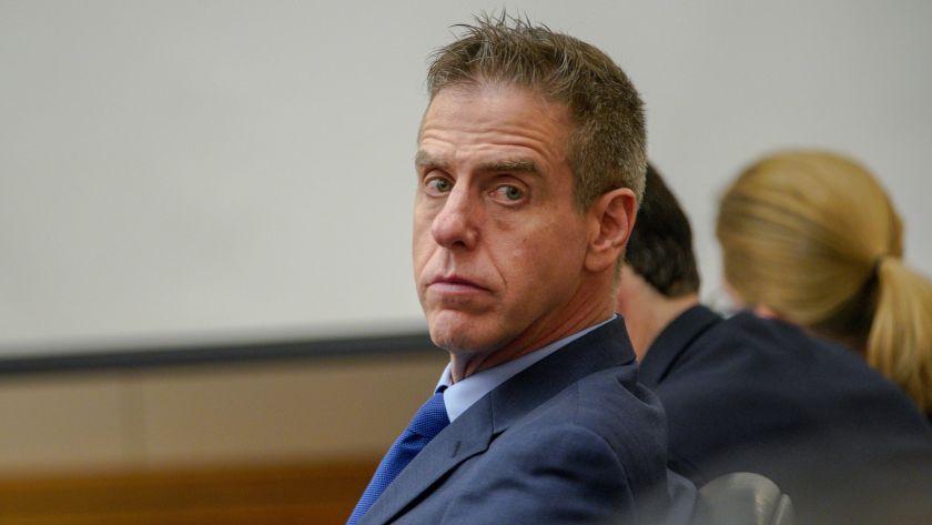 Adam Shacknai tại phiên tòa dân sự. Ảnh: San Diego Union-Tribune.