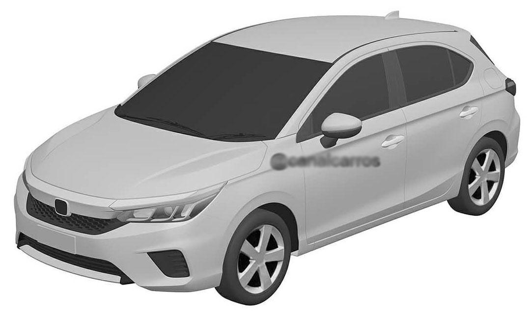 Honda City bản hatchback sắp ra mắt tại Thái Lan. Ảnh: Canalcarros