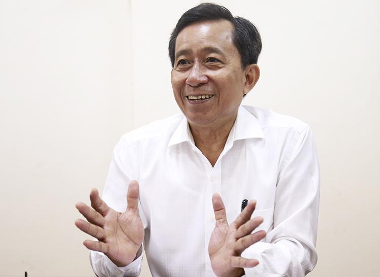 Ông Trương Văn Lắm, nguyên Giám đốc Sở Nội vụ TP HCM. Ảnh: Hữu Công