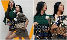 Hai cô gái biến thành siêu mẫu dù chỉ mặc hàng chợ